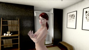 La Douche - Redhead Workout Znelarts vr porn game vrporn.com virtual reality