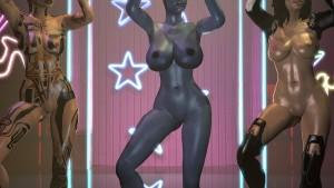 Mass Effect Sex & Dance - Liara FantasySFM CGI Girl vr porn video vrporn.com virtual reality