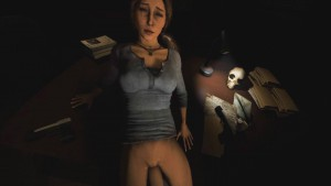 Lara Is Working After Hours, Again DarkDreams lara croft vr porn video vrporn.com virtual reality