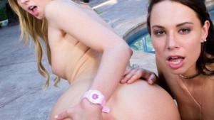 Back In The Day WANKZVR Aidra Fox Chloe Scott vr porn video vrporn.com virtual reality