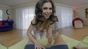My Sister's Friend WANKZVR Riley Reid vr porn video vrporn.com virtual reality