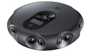 Samsung Announces 360 Round Camera for 4K 3D LiveStreaming