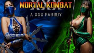 Mortal kombat parody jade and kitana edenian threesome