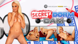 Secret Dorm Cam – Hot Russian College Babe Masturbation