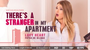 There's A Stranger In My Apartment - Fucking A Russian Blonde VirtualRealPorn Lucy Heart VR porn video vrporn.com