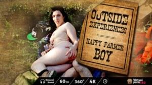 Outside experiences Happy Farmer VirtualPorn360 Pamela Sanchez vr porn video vrporn.com virtual reality