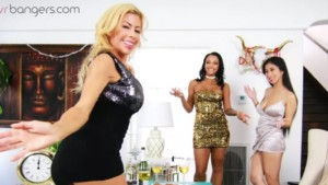 VR Porn Orgy Reviews: New Year's Eve Foursome vr bangers vr porn blog virtual reality