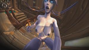World of Warcraft - Dranei's Night In Elwynn Forest DarkDreams vr porn video vrporn.com virtual reality
