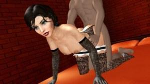 Bioshock - Elizabeth Doggystyle Lewd FRAGGY vr porn video vrporn.com virtual reality