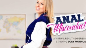 Anal Sex with the Most Popular Blonde in College - Zoey Monroe naughtyamericavr vr porn blog virtual reality