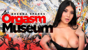 An Orgasm At The Museum RealityLovers Brenna Sparks vr porn video vrporn.com virtual reality