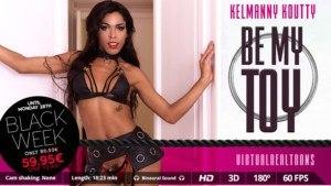 Be my toy VirtualRealTrans Kelmanny Koutty vr porn video vrporn.com virtual reality