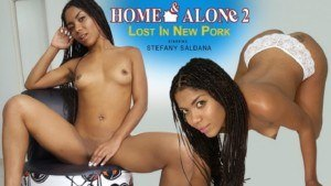 Home & Alone 2 – Lost in New Pork VRLatina Stefany_Saldana vr porn video vrporn.com virtual reality