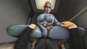 The Legend of Zelda - Midna's Elevator Aggressiveness DarkDreams vr porn video vrporn.com virtual reality