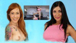 Taking Turns VirutalPee Foxie T Rachel Evans vr porn video vrporn.com virtual reality