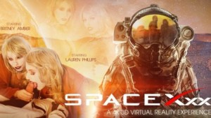 SpaceXXX VR Bangers Britney Amber Lauren Phillips vr porn video vrporn.com virtual reality