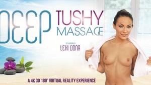 Deep Tushy Massage VRBangers Lexi Dona vr porn video vrporn.com virtual reality