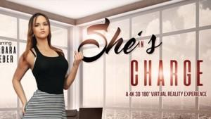 She's In Charge - Barbara's Rough Make up Sex VRBangers Barbara Bieber vr porn video vrporn.com virtual reality