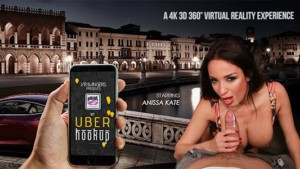 My Uber Hookup VRBangers Anissa Kate vr porn video vrporn.com virtual reality