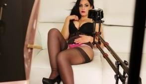 Serious Tits And Ass Alex Black StockingsVR Alex Black vr porn video vrporn.com virtual reality