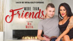 More Than Friends VRBTrans mia maffia vr porn video vrporn.com virtual reality