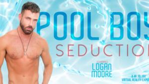 [Gay] Pool Boy Seduction VRBGay Logan Moore vr porn video vrporn.com virtual reality