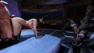 Mass Effect - Miranda Invited A Friend DarkDreams vr porn video vrporn.com virtual reality
