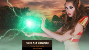 First Aid Surprise WhorecraftVR Elena Koshka vr porn video vrporn.com virtual reality