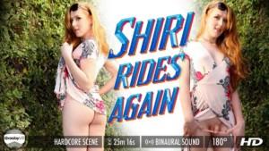 Shiri Allwood in Shiri Rides Again GroobyVR Shiri Allwood vr porn video vrporn.com virtual reality