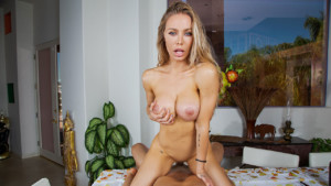 Turkey Day Lay BaDoinkVR Nicole Aniston vr porn video vrporn.com virtual reality