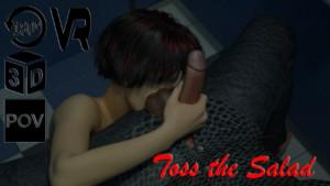 Toss the Salad AMTVR cgi girl vr porn video vrporn.com virtual reality