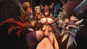 World of Warcraft - Alexstrasza and