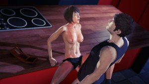 Final Fantasy - Monica's Post-Workout Workout DarkDreams vr porn video vrporn.com virtual reality