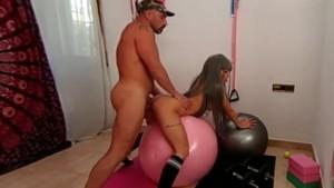 Yasmin Daferro Bryan Da Ferro Gym VR MMM100VR vr porn video vrporn.com virtual reality