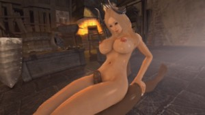 Arisha Thigh Rub, Black -Vindictus Laosduude vr porn video vrporn.com virtual reality