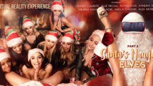 Santa's Naughty Elves (Part 2) VR Bangers vr porn video vrporn.com virtual reality