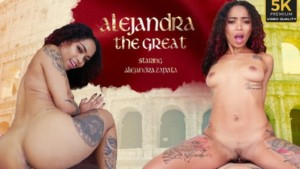 Alejandra The Great VRLatina Alejandra Zapata vr porn video vrporn.com virtual reality