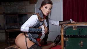 Assassins Creed Unity A XXX Parody VRCosplayX Anna Polina vr porn video vrporn.com virtual reality