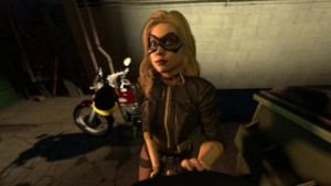 DC Comics - Secret Meeting with Black Canary DarkDreams vr porn video vrporn.com virtual reality