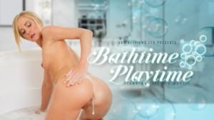Bathtime Playtime VRPFilms Sicilia Model vr porn video vrporn.com virtual reality