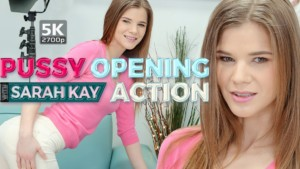Pussy Opening Action TmwVRnet Sarah Kay vr porn video vrporn.com virtual reality