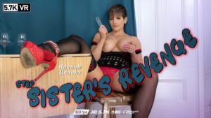 Hannah Brooks Step Sisters Revenge WankitNowVR Hannah Brooks vr porn video vrporn.com virtual reality