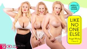 Like No One Else VirtualRealPorn Angel Wicky vr porn video vrporn.com virtual reality