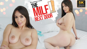 The Milf Next Door VRLatina Kourtney Love vr porn video vrporn.com virtual reality
