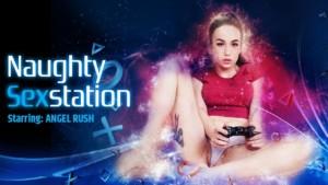 Naughty Sex Station VRPFilms Angel Rush vr porn video vrporn.com virtual reality