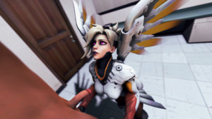 Overwatch - Mercy's Holistic Approach to Healing DarkDreams vr porn video vrporn.com virtual reality