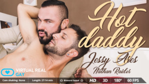 Hot Daddy VirtualRealGay Jessy Ares Nathan Raider vr porn video vrporn.com virtual reality