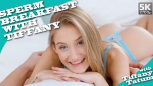 Sperm Breakfast With Tiffany TmwVRnet Tiffany Tatum vr porn video vrporn.com virtual reality