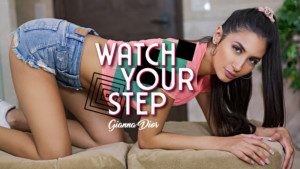 Watch Your Step BaDoinkVR Gianna Dior vr porn video vrporn.com virtual reality