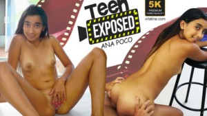 Teen Exposed VRLatina Anna Poco vr porn video vrporn.com virtual reality